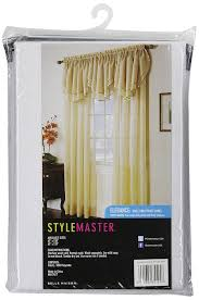 Linen Sheer Curtains Bed Bath And Beyond by Amazon Com Stylemaster Elegance 60 By 108 Inch Sheer Voile Panel