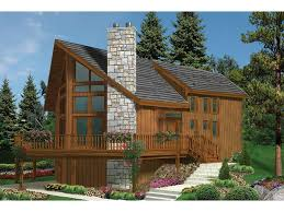 chalet home chalet style 2 story 3 bedrooms s house plan with 1721 total