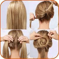 tutorial rambut wanita gaya rambut tutorial untuk android download gratis air