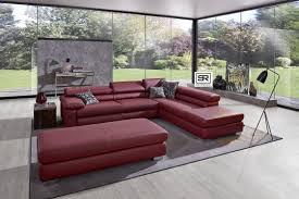 canapé design bl square canapé design d angle 4 5 places avec ottomane