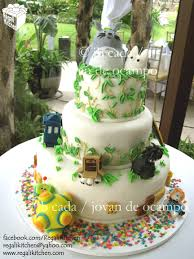 geek love wedding cake for rica and sancho cakes by the regali