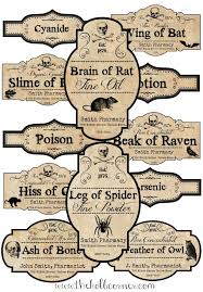 printable halloween specimen jar labels how to make apothecary jars and free printable labels free