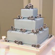 power to personalize your wedding winter wedding cakes