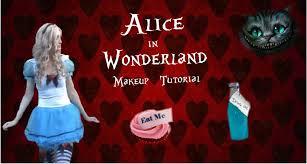 alice in wonderland makeup tutorial youtube