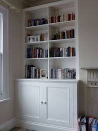 Built In Bookshelves Bespoke Bookcases London Furniture by Fitted Wardrobes And Bookcases In London Shelving And Cupboards