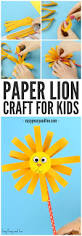 paper lion craft easy peasy and fun