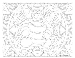 009 blastoise pokemon coloring page windingpathsart com