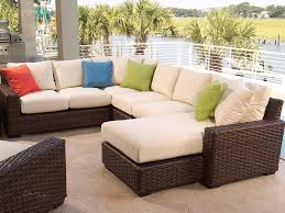 Affordable Wicker Patio Furniture - patio 54 cheap wicker patio furniture hampton bay java white