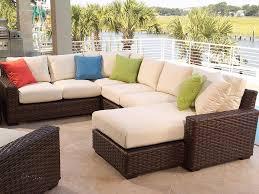 White Resin Wicker Patio Furniture - patio 54 cheap wicker patio furniture hampton bay java white