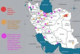 map or iran iran protests map via scotty the brain on album on imgur