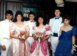 eighties prom ahhh sleeve dresses i think we all had one or wore one at