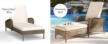 Pottery Barn Patio Furniture 12 Patio Furniture Knockoffs That U0027ll Save You Hundreds On Outdoor