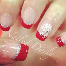 best 25 red tip nails ideas on pinterest red black nails