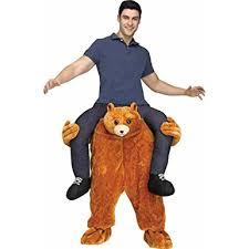 Amazon Prime Halloween Costumes Amazon Carry Teddy Bear Costume Clothing