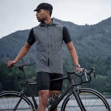 cycling rain vest the meridian vest waterproof cycling vest mission workshop