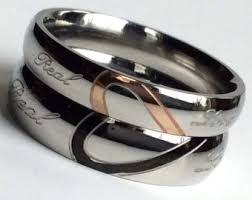 his and hers items promise rings etsy