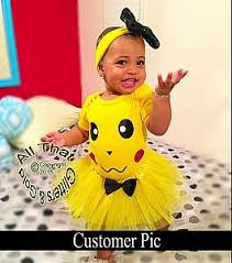 Baby Boy Halloween Costumes 0 3 Months Pikachu Birthday Tutu Costume Baby Girls Toddler Girls 0 3