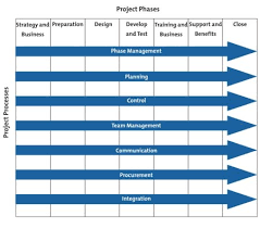 project management phases and processes from mindtools com