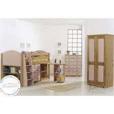 Verona Design Midsleeper Bunk Bed - Mid sleeper bunk bed