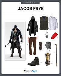 Assassins Creed Halloween Costumes Dress Jacob Frye Costume Halloween Cosplay Guides