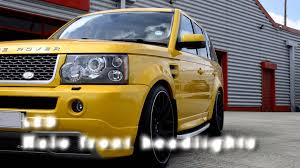 land rover yellow sd design mercury yellow range rover sport youtube