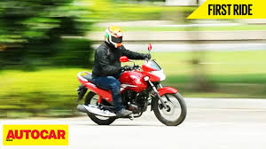 honda zmr 150 price hero achiever 150 first ride autocar india youtube