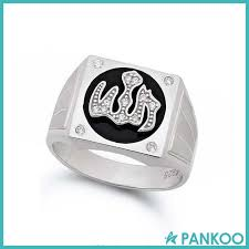 silver ring for men islam allah ring allah ring suppliers and manufacturers at alibaba