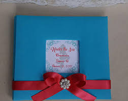 sweet 16 guest sign in book sea guestbook etsy