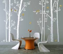 White Tree Wall Decal Nursery Tree Wall Decal White Design Idea And Decorations Family Tree