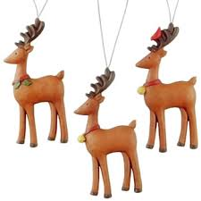 reindeer ornament gift tags animal emporium