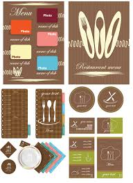 restaurant menu design free download