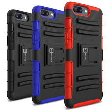oneplus 5 holster case explorer series hybrid cover with belt clip