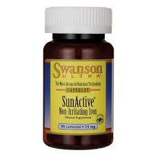 sunactive nonirritating iron 15 mg 90 caps sexual health sleep