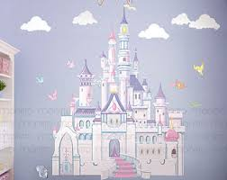 Disney Bedroom Wall Stickers Castle Wall Decal Etsy