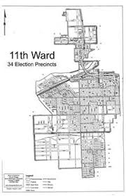 12th ward chicago map alderman d thompson 11th ward service office