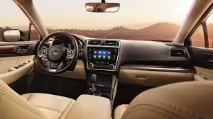 subaru legacy 2018 interior subaru of america announces pricing on refreshed 2018 legacy and