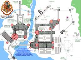 Harry Potter World Map by Map Of The Hogwarts Campus This Map Isn U0027t Shown On The Website