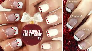 diy cute u0026 easy christmas nail polish art designs for beginners