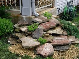 downspout waterfall gardening faves pinterest drainage ideas