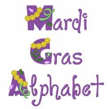 mardi gras embroidery designs mardi gras alphabet by great notions home format fonts on