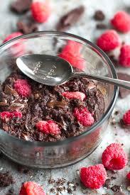 Chocolate Raspberry Recipes Dark Chocolate Raspberry Breakfast Bake Running With Spoons