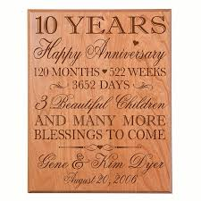 10th anniversary gift ideas for him cheap family anniversary ideas find family anniversary ideas