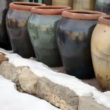 protecting pots and planters over winter thriftyfun