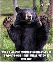 Truth Bear Meme - one reader asked a question here s the answer seeking alpha