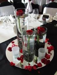 Red And White Centerpieces For Wedding by Red White And Black Wedding Centerpieces Get Ready Set Go Diy