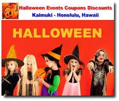 halloween events coupons discounts kaimuki honolulu kaimuki