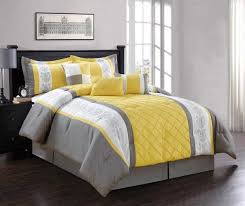 Grey And Yellow Comforters Gray Comforter Set King Tags Yellow And Gray Comforter Set Navy