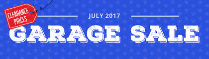july garage sale brings hundreds of clearance items other world