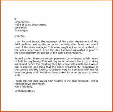 who to address resignation to budget template letter