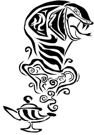 tribal king cobra